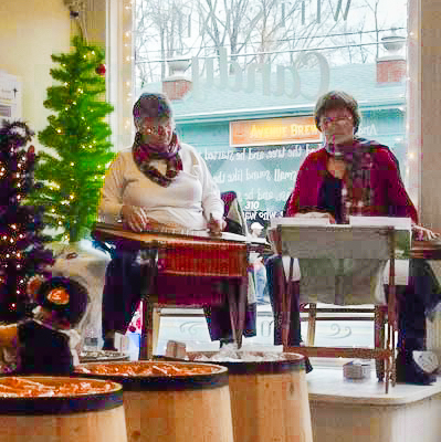 dulcimer duet at Witt's End candy store